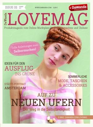 DaWanda Magazin Lovemag