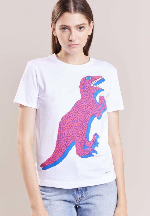 Der Tyrannosaurux Rex als Shirt-Print verleiht dem Träger Stärke und Bissigkeit. Copyright: Zalando.de