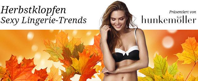 Hunkemöller Lingerie-Trends Herbst/Winter 2015/16