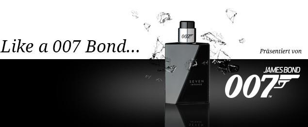 Like a 007 Bond - Lifestyle eines Geheimagenten - präsentiert vom neuen James Bond Seven Duft