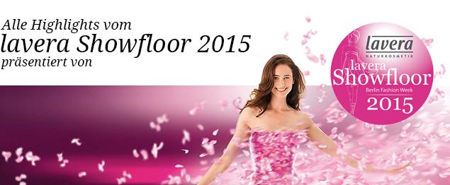 Alle News vom lavera Showfloor zur Berlin Fashion Week - Winter 2015